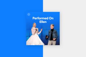 The Ellen Showでパフォーマンスされた楽曲をまとめたプレイリスト-mv